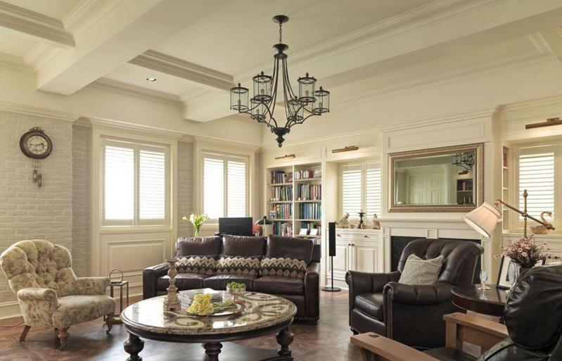 美式别墅设计特点